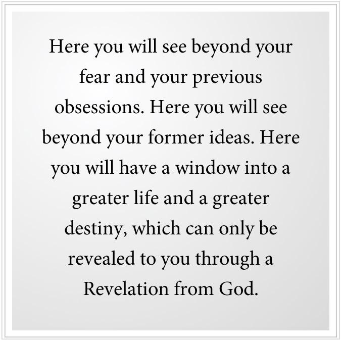new revelation from god